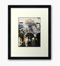 Historic Y in Tucson, Arizona Framed Print