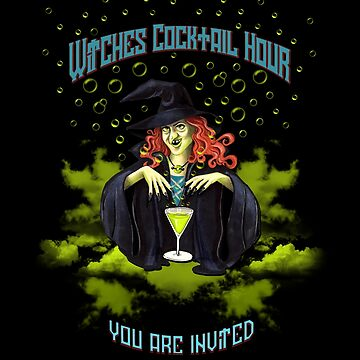 WITCHES COCKTAIL HOUR - You are invited by Colette-vd-Wal
