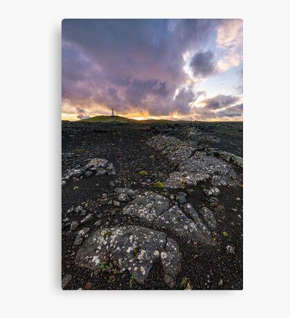 Iceland Morning Light Canvas Print
