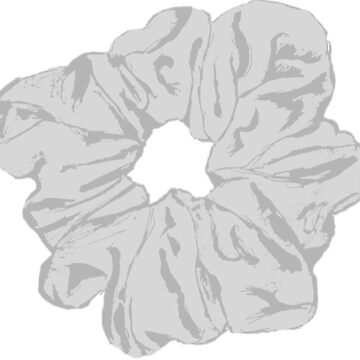 «Grey Scrunchie» par hammoudclaudia