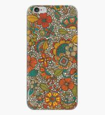 Garden Doodles iPhone Case