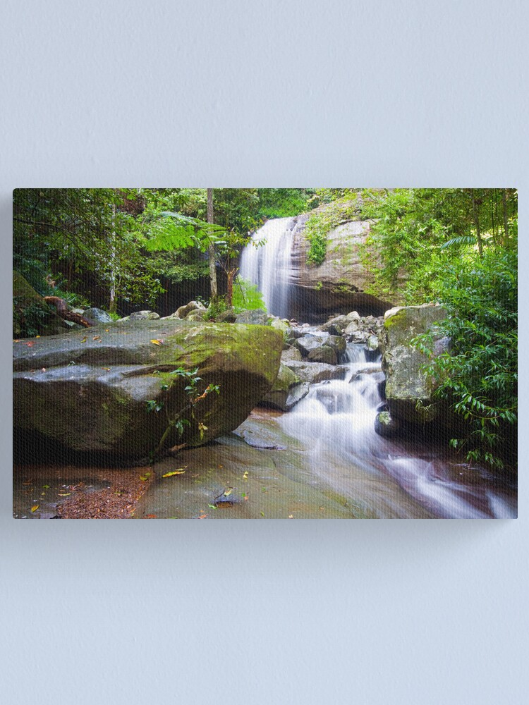 Alternate view of Serenity Falls Canvas Print