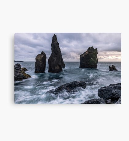 Icelandic Seascape Canvas Print