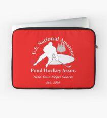 U.S. National Pond Hockey Assoc. T-Shirt Laptop Sleeve
