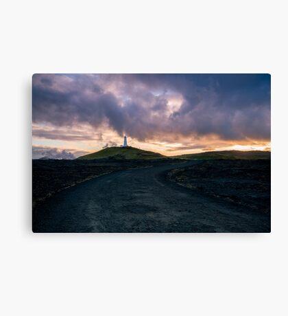 Icelandic Road Canvas Print
