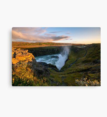 Gullfoss - Iceland Canvas Print