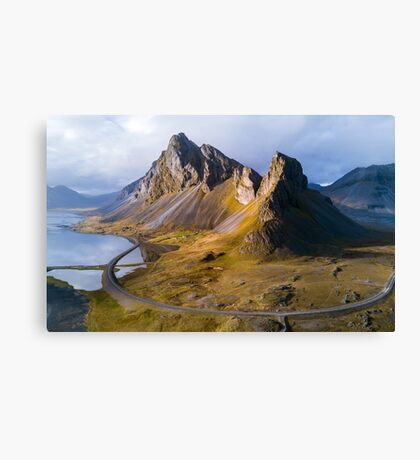 From Above - Iceland Canvas Print