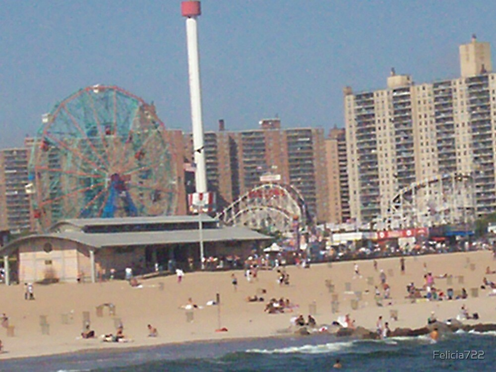 Beach @ Coney Island by Felicia722