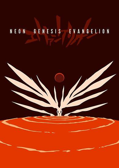Das Ende des Evangelion - Alternative Farben von Gershom Charig