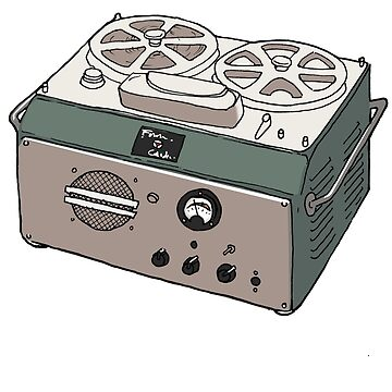 First Tape recorder from Japan by serge-o-sketch