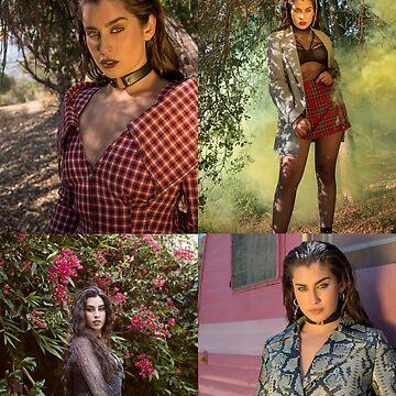 Lauren Jauregui collage photoshoot by AlishaBurden00
