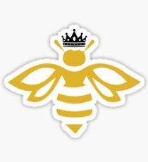 Queen B - Queen Bee With a Crown T shirt Sticker