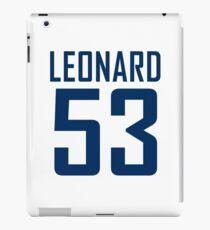 LEONARD 53 iPad Case/Skin
