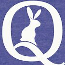 Qanon Follow the White Rabbit Red Pilled by Qanon by JenniferMac