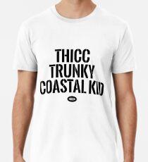 Camiseta premium para hombre Thicc Trunky Coastal Kid - Sam Darnold x Colin Cowherd