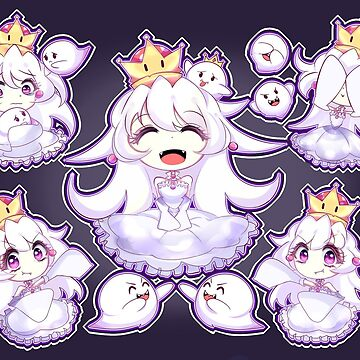 Booette | キングテレサ姫 | King Boo (Queen Boo) by YitsuneMelody