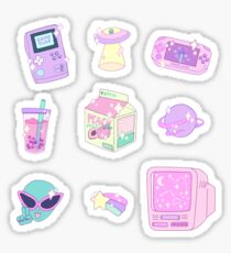 Pink Aesthetic Stickers Redbubble