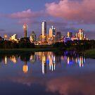 Dallas Pink Clouds Sunset by josephhaubert