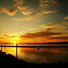 Gulfport Sunset by Jonicool