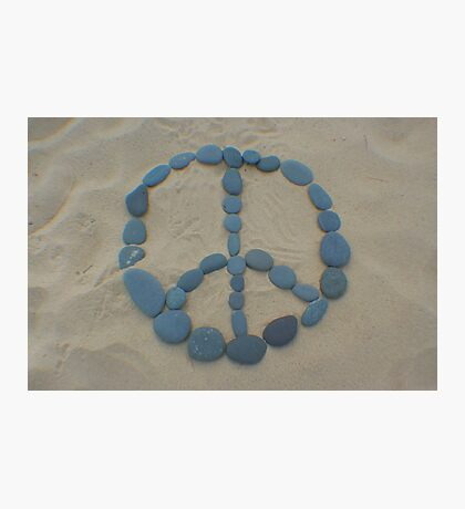 Peace in the Sand Photographic Print