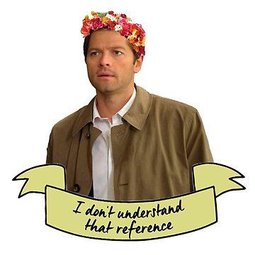 I Don't Understand That Reference Castiel by nekhebit