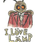 Meme Moth - I Love Lamp!  by Wild Green Memes Store