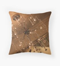 Wired Chandelier Throw Pillow