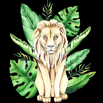 Lion King of the Jungle by UllUDesign