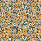 Fall Roses - limited color challenge by TooCoolUnicorn