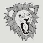 Screaming lion by Meagan Kenny