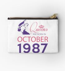It's My Birthday 31. Made In October 1987. 1987 Gift Ideas. Studio Pouch