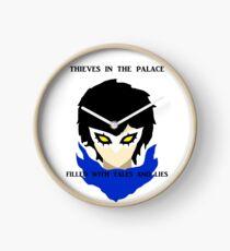 Persona 5 Joker Minimalist Art Clock