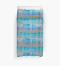Blue Skin Peeling Duvet Cover