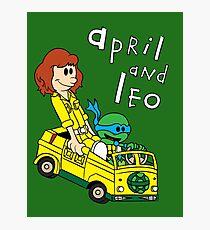 April and Leo Photographic Print