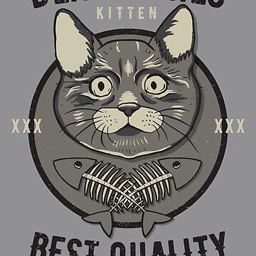 Miaui - Dead Fishes Kitten by Skullz23