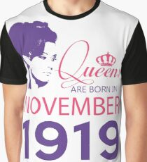 It's My Birthday 99. Made In November 1919. 1919 Gift Ideas. Graphic T-Shirt
