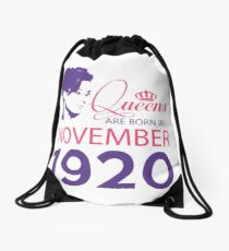 It's My Birthday 98. Made In November 1920. 1920 Gift Ideas. Drawstring Bag