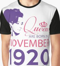 It's My Birthday 98. Made In November 1920. 1920 Gift Ideas. Graphic T-Shirt