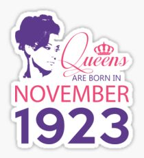 It's My Birthday 95. Made In November 1923. 1923 Gift Ideas. Sticker