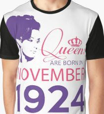 It's My Birthday 94. Made In November 1924. 1924 Gift Ideas. Graphic T-Shirt
