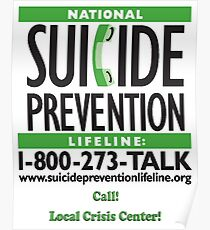 Suicide Prevention - TALK! Poster