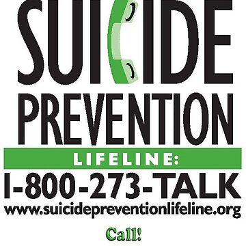 Suicide Prevention - TALK! by Spacestuffplus