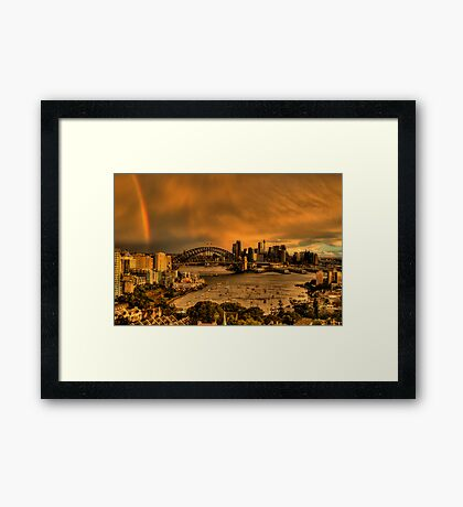 Wicked - Moods Of A City - The HDR Experience Framed Print