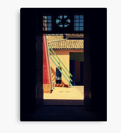 outsideit'sArT Canvas Print