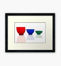 Measuring Cups Framed Print