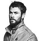 Chris Hemsworth by NessaElanesse