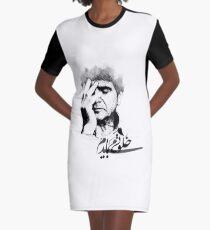 Kalvati Mibayadam - Shajarian Vector Graphic T-Shirt Dress