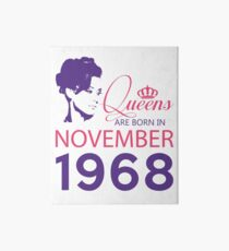 It's My Birthday 50. Made In November 1968. 1968 Gift Ideas. Art Board