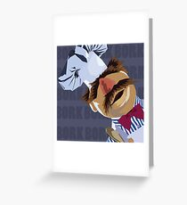 "Swedish Chef ""Bork Bork"" Greeting Card"
