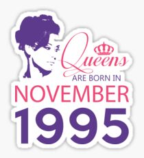 It's My Birthday 23. Made In November 1995. 1995 Gift Ideas. Sticker